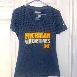 Women's M Adidas Michigan Wolverines t-shirt!